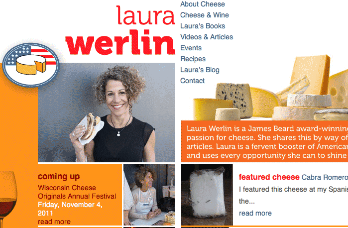 laura werlin's new american cheese